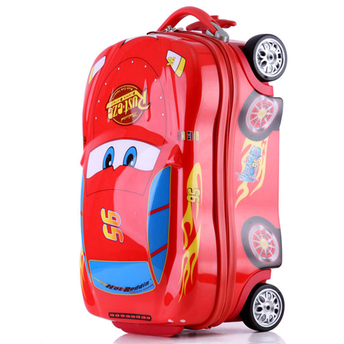 Kid Cartoon Travel Suitcase Image 4