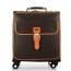 Spinner Wheels Geometric Suitcase