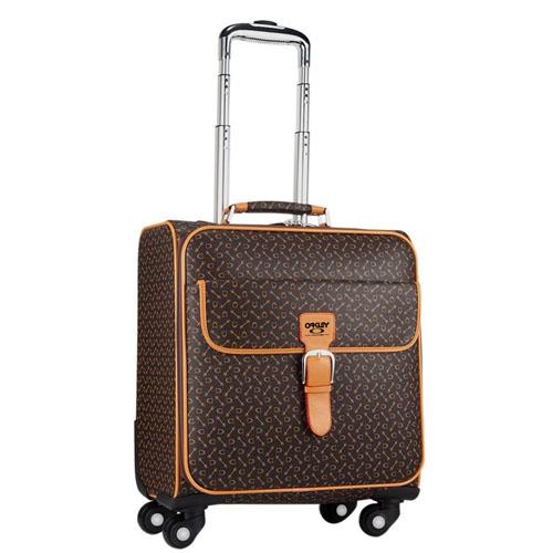 Spinner Wheels Geometric Suitcase Image 1