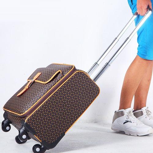 Spinner Wheels Geometric Suitcase Image 2
