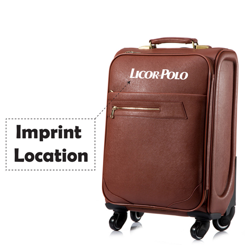 Business Spinner Travel Suitcase Imprint Image
