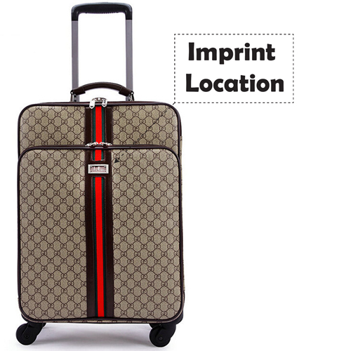 Classic Business Rolling Luggage Imprint Image