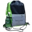 Lightweight Front Zip Pocket Drawstring Bag Image 1