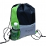 Lightweight Front Zip Pocket Drawstring Bag Image 2