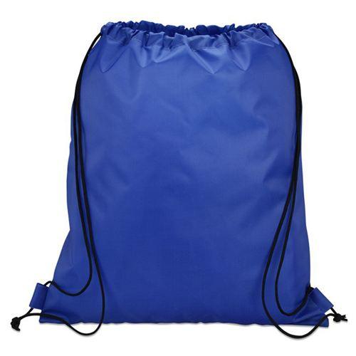 Mesh Pocket Mens Drawstring Backpack