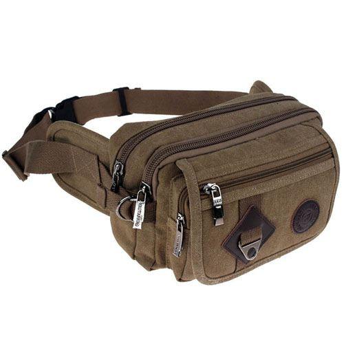 Casual Messenger Waist Bag