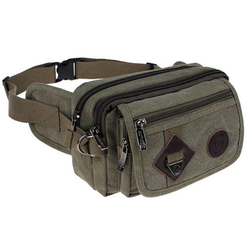 Casual Messenger Waist Bag Image 3