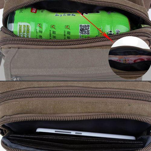 Casual Messenger Waist Bag Image 5