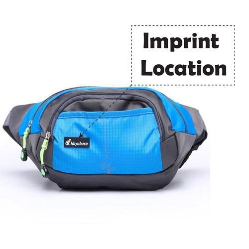 Fashion Women and Men Waist Pack Imprint Image