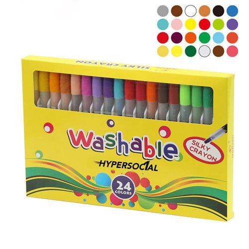 Nontoxic 24 Colors Washable Watercolor Pens