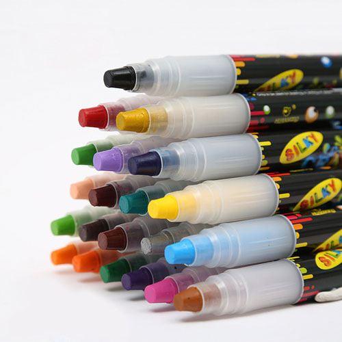 Nontoxic 24 Colors Washable Watercolor Pens Image 3