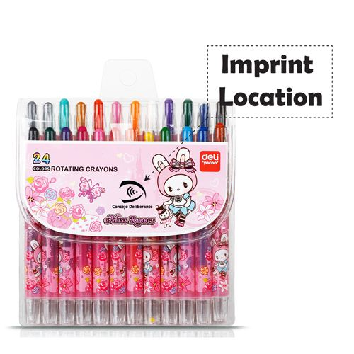 Children Painting 24 Colors Creative Crayon Imprint Image