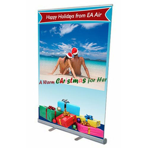 Retractable Banner 57 Inch Stand