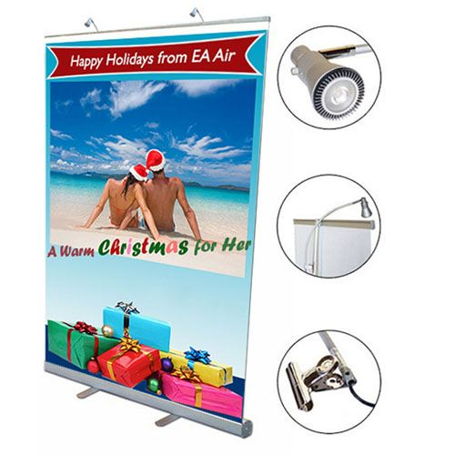 Retractable Banner 57 Inch Stand Image 1