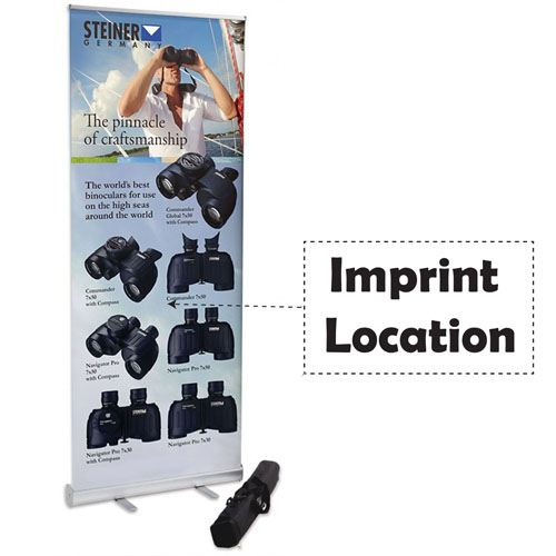 Budget Banner Reliable Stand Imprint Image