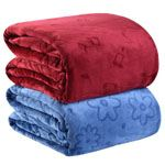 Solid Bed Sheets Flannel Blanket