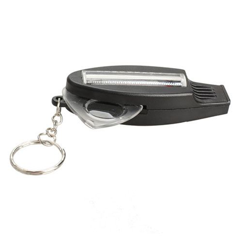 Whistle Thermometer Key Chain with Magnifier Versatile Image 4