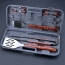 BBQ Tool Set Plastic Carry Box