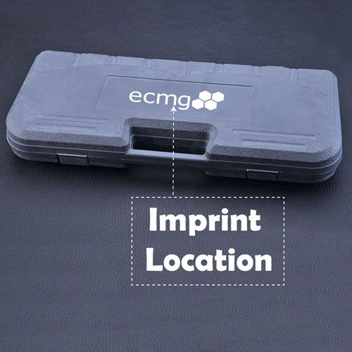 BBQ Tool Set Plastic Carry Box  Imprint Image
