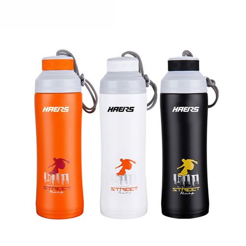 Double Layer Thermal Vacuum 450ml Water Bottle