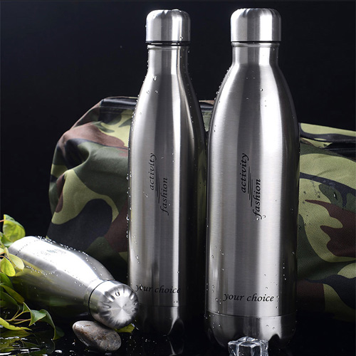 Double Walled Stainless Steel Hydration Bottle Image 1