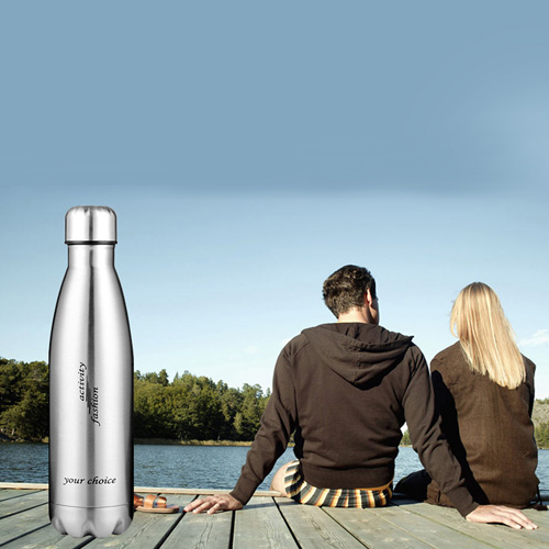 Double Walled Stainless Steel Hydration Bottle Image 4