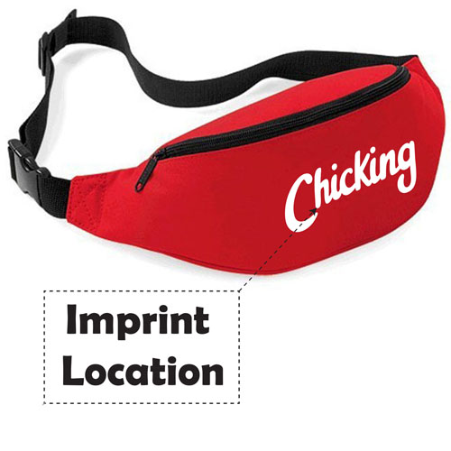 Sports Hiking Running Belt Pack Imprint Image