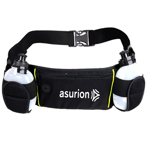 Dual Water Bottle Travel Waist Belt Image 2