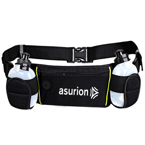 Dual Water Bottle Travel Waist Belt Image 3