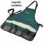 Apron Type Tool Kit Bag for Garden Imprint Image
