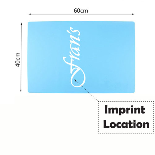 Nonstick Silicone Baking Mat Imprint Image