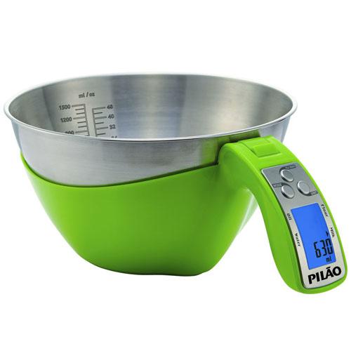 Kitchen Scale Black Measuring 1500ml