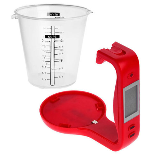 All in One New Electronic Digital Measuring Cup Image 4
