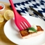 Silicone 5 Piece Cooking Scraper Cake Image 1