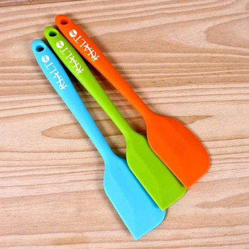 Silicone 2 Piece Baking Spatula Tool Image 2