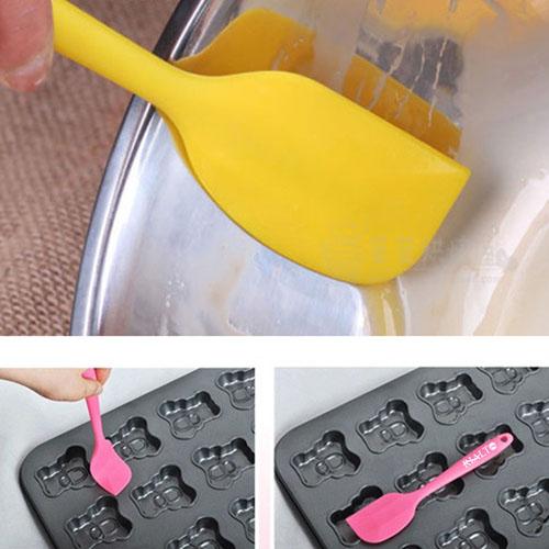 Silicone 2 Piece Baking Spatula Tool Image 4