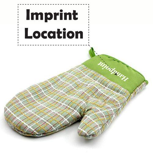 Anti Burn and Heat Insulation Glove Kit Imprint Image
