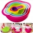 Multicolor 8 Piece Kitchen Bowl