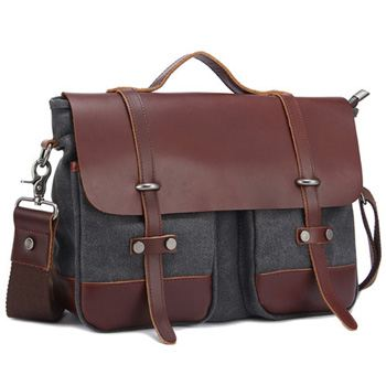 Canvas Briefcase Bag