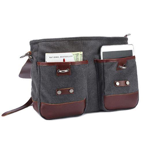 Canvas Briefcase Bag Image 1