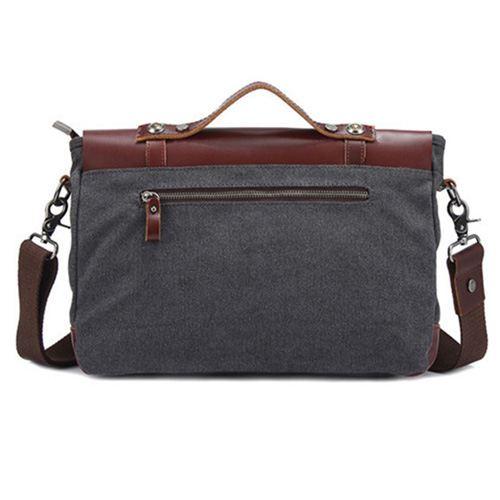 Canvas Briefcase Bag Image 2