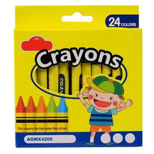 Plastic Nontoxic Erasable Crayon Image 1