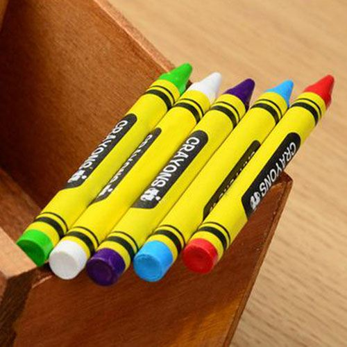 Plastic Nontoxic Erasable Crayon Image 4