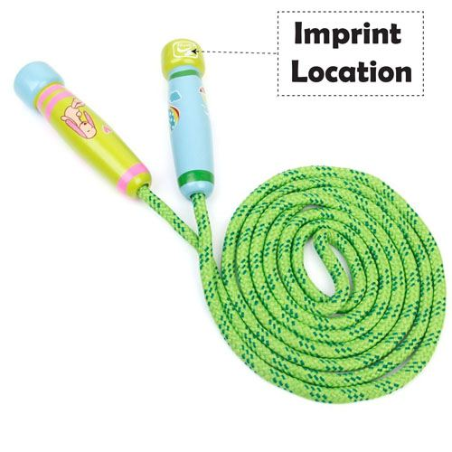 Exercise Jumping Rope For Children Imprint Image