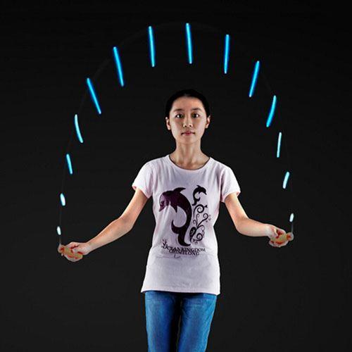 Led Flashing Light Jump Rope Image 1