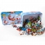 Cartoon Wooden 60 Piece Puzzle Toys Image 1