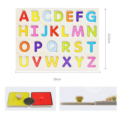 Alphabet and Numbers Educational Toys Image 1