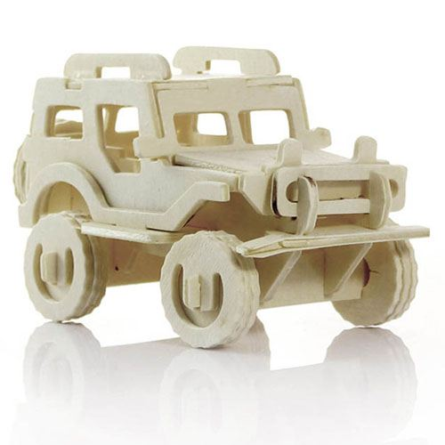 Children Educational Assembly Car, Jeep and Bike Image 1