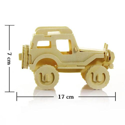 Children Educational Assembly Car, Jeep and Bike Image 4