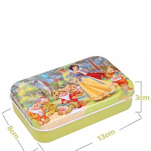 Wooden 3D Cartoon Puzzle with Iron Package Image 3